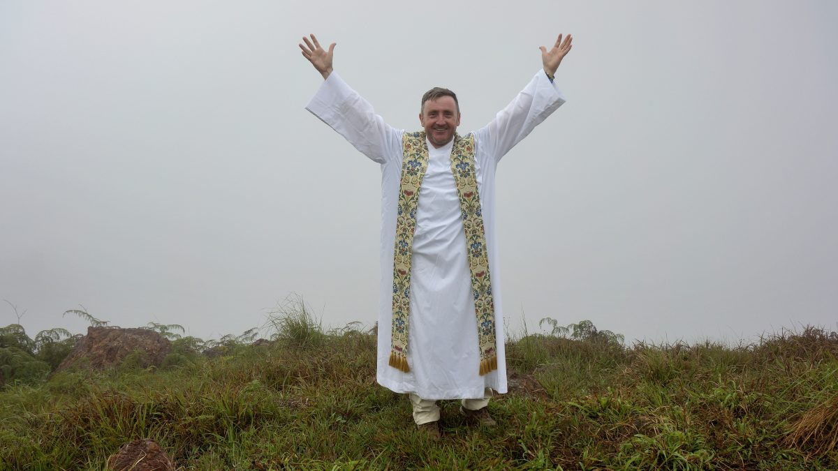 Good news from Fr. Karl /  Buenas noticias del Padre Karl.
