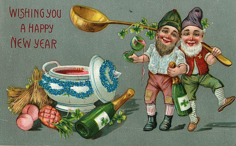 Happy New Year from Ireland!